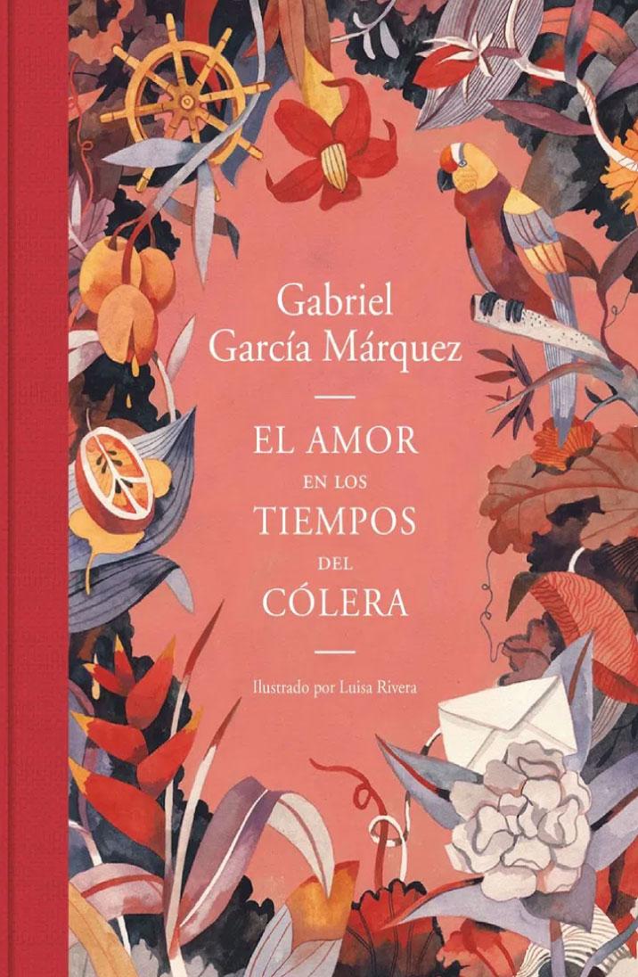 El amor en los tiempos del cólera (ilustrado por Luisa Rivera)