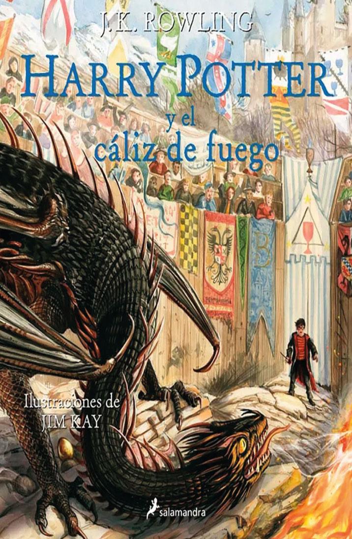 Harry Potter y el cáliz de fuego (edición ilustrada)