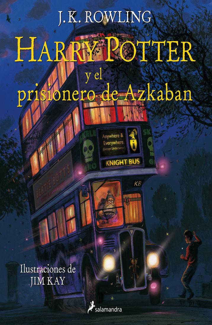 Harry Potter y el prisionero de Azkaban (Edición ilustrada)