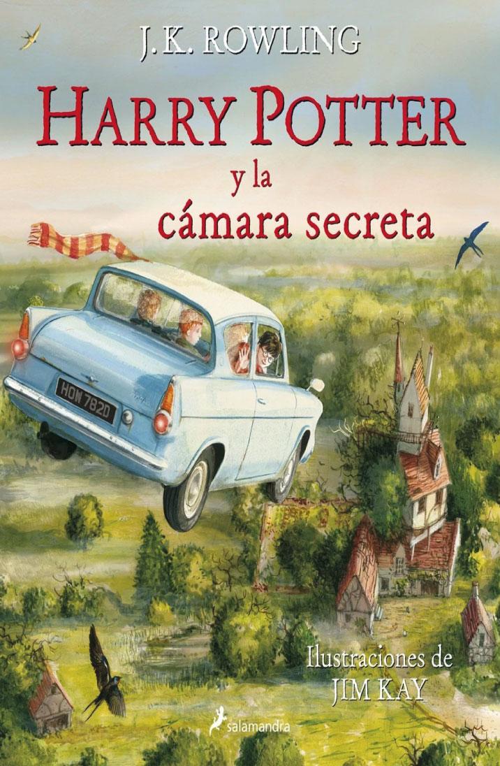 Harry Potter y la cámara secreta (Edición ilustrada)