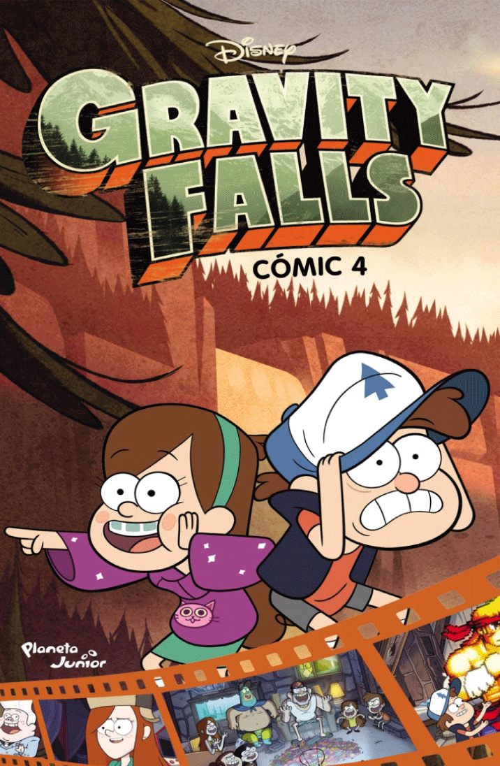 Gravity Falls: Cómic 4