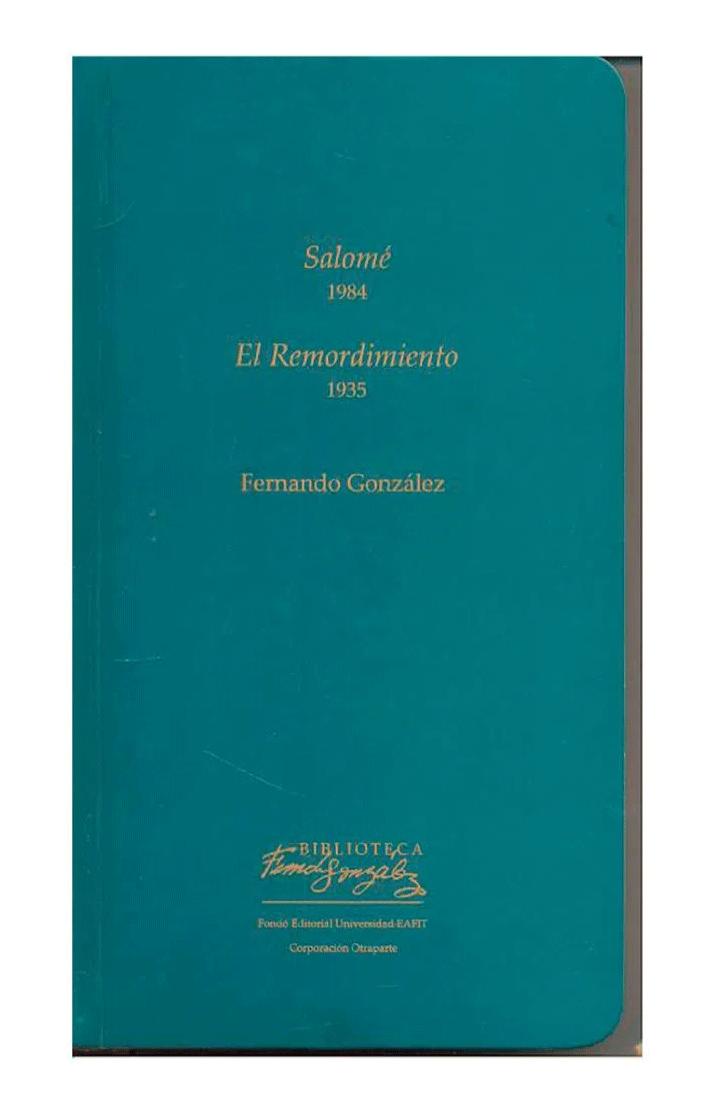 Salomé 1984-El Remordimiento 1935