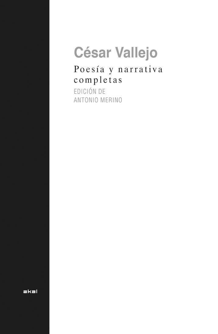 Poesía y narrativa completa