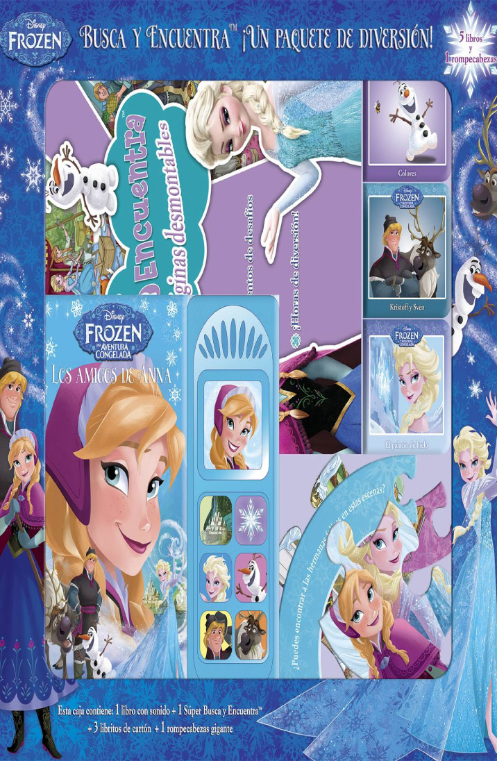Frozen busca y encuentra