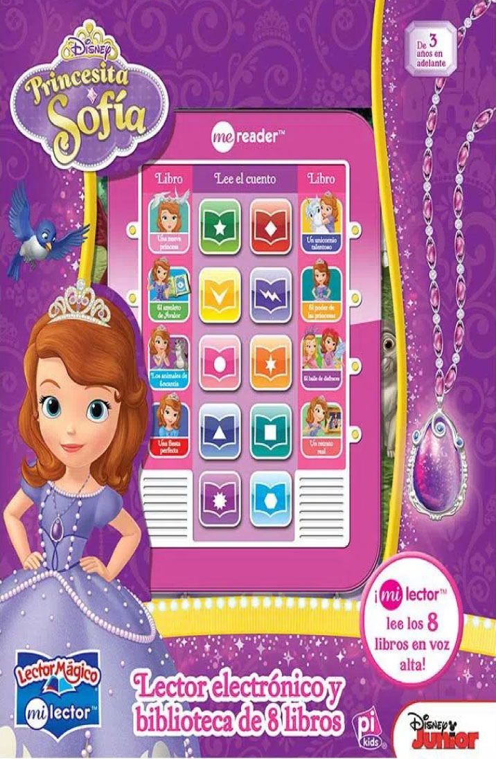 Princesita Sofía lector mágico
