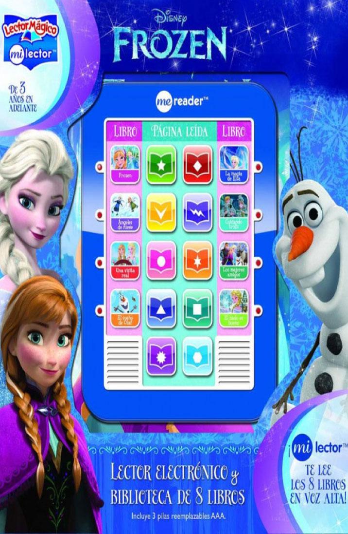 Frozen lector mágico