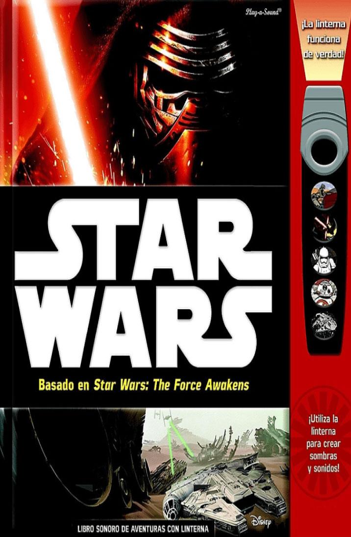 Star Wars libro sonoro de aventuras con linterna