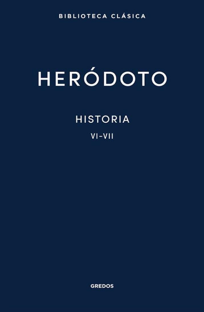 Heródoto. Historia VI-VII